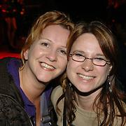 NLD/Huizen/20060324 - Afscheid burgemeester Jos Verdier van de bevolking als burgemeester van Huizen, Karin