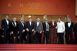 May 16, 2019 - Cannes, France - 72nd Cannes Film Festival 2019, Red Carpet film : Rocket Man.Pictured: Elton John, Taron Egerton, Dexter Fletcher, Richard Madden, Bryce Dallas Howard, Bernie Taupin (Credit Image: © Alberto Terenghi/IPA via ZUMA Press)
