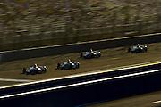 14-15 September, 2012, Fontana, California, USA.Marco Andretti (26), Tony Kanaan (11), Ryan Briscoe (2) .(c)2012,  Jamey Price.LAT Photo USA