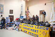 12/8/13 12:26:55 PM -- Albuquerque NM  --Presentation of supplies for Operation Comfort Warriors gifts to the Raymond G. Murphy VA Medical Center in Albuquerque, N.M..<br /> <br />  --    Photo by Steven St John