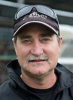 WASSENAAR - Mark Hager, bondscoach .Team van Nieuw Zeeland dames. Foto Koen Suyk