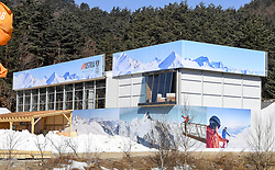 08-02-2018 KOR: Olympic Games day -1, Pyeongchang<br /> Austria House during a preliminary reports to the Olympic Winter Games 'PyeongChang 2018' at the Austria Haus in Pyeongchang, South Korea on 2018/02/04.<br /> <br /> *** USE NETHERLANDS ONLY ***