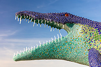 Niloticus<br /> by: Peter Hazel<br /> from: Reno, NV<br /> year: 2019<br /> <br /> Niloticus is a 40 foot long mosaic crocodile that invites visitors to climb on top of him. His eyes, teeth, and osteoderms will light up in the night.<br /> <br /> Contact: peter@peterhazel.com<br /> <br /> https://burningman.org/event/brc/2019-art-installations/?yyyy=&artType=h#a2I0V000001AW2iUAG My Burning Man 2019 Photos:<br /> https://Duncan.co/Burning-Man-2019<br /> <br /> My Burning Man 2018 Photos:<br /> https://Duncan.co/Burning-Man-2018<br /> <br /> My Burning Man 2017 Photos:<br /> https://Duncan.co/Burning-Man-2017<br /> <br /> My Burning Man 2016 Photos:<br /> https://Duncan.co/Burning-Man-2016<br /> <br /> My Burning Man 2015 Photos:<br /> https://Duncan.co/Burning-Man-2015<br /> <br /> My Burning Man 2014 Photos:<br /> https://Duncan.co/Burning-Man-2014<br /> <br /> My Burning Man 2013 Photos:<br /> https://Duncan.co/Burning-Man-2013<br /> <br /> My Burning Man 2012 Photos:<br /> https://Duncan.co/Burning-Man-2012