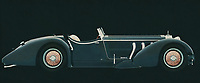The Mercedes-Benz SSK-710 from 1930 dates from the beginning of what we call the modern car industry. With this Mercedes-Benz SSK-710 from 1930 Mercedes had a small but wealthy clientele who were the founders of the name and fame of Mercedes.<br /> <br /> This painting of a Mercedes-Benz SSK-710 from 1930 can be printed very large on different materials.