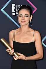People's Choice Awards 2018 - Press Room 11 Nov 2018