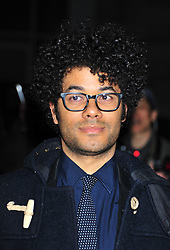 © Licensed to London News Pictures. 06/02/2012.  England. Richard Ayoade attends the Evening Standard Film Awards at County Hall westminster London Photo credit : ALAN ROXBOROUGH/LNP