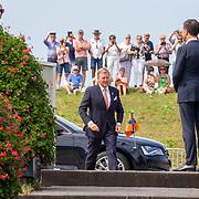 NLD/Terneuzen/20190831 - Start viering 75 jaar vrijheid, Willem - Alexander