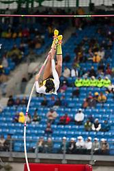 adidas Grand Prix Diamond League professional track & field meet: Jenn Shur, USA, pole vault