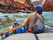 Day 1 of 16 rafting the Colorado River through Grand Canyon National Park, Arizona, USA. For this photo's licensing options, please inquire at PhotoSeek.com. .