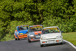 Action from Rounds 9 and 10 of the 750 Motor Club's Classic Stock Hatch Championship held at Cadwell Park in July 2017. Photo by Jonathan Elsey.