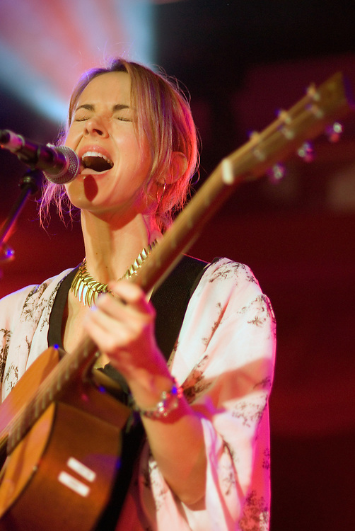 Gemma Hayes performing live at All Tomorrow's Parties at Butlins in Minehead. 6th December 2009.