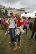Lady Alexandra Gordon-Lennox and Margarita Wennberg, Lady Alexandra Gordon-Lennox. Cartier Style et Luxe champagne reception and lunch at the  the Goodwood festival of Speed. 9 July 2006. -DO NOT ARCHIVE-© Copyright Photograph by Dafydd Jones 66 Stockwell Park Rd. London SW9 0DA Tel 020 7733 0108 www.dafjones.com