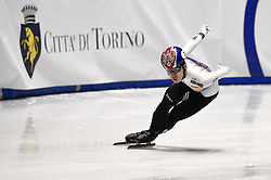 February 9, 2019 - Torino, Italia - Foto LaPresse/Nicolò Campo .9/02/2019 Torino (Italia) .Sport.ISU World Cup Short Track Torino - Men 500 meters Quarterfinals .Nella foto: Dae Heon Hwang..Photo LaPresse/Nicolò Campo .February 9, 2019 Turin (Italy) .Sport.ISU World Cup Short Track Turin - Men 500 meters Quarterfinals.In the picture: Dae Heon Hwang (Credit Image: © Nicolò Campo/Lapresse via ZUMA Press)