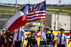 October 21, 2018 - Austin, United States - Motorsports: FIA Formula One World Championship; 2018; Grand Prix; United States, FORMULA 1 PIRELLI 2018 UNITED S GRAND PRIX , Circuit of The Americas Pokal  (Credit Image: © Hoch Zwei via ZUMA Wire)