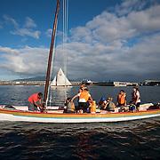 Régate en baleinière à Horta