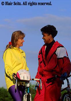 Bicycling, Pennsylvania, Outdoor recreation, Biking in PA Young Adult Female African American Biker, York Co., PA, Park Mixed Race Biking,