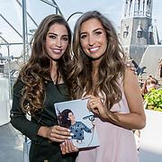 NLD/Amsterdam/20170522 - Boekpresentatie Hair By Xelly Cabau van Kasbergen met haar zus Yolante Sneijder-Cabau