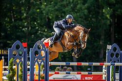 HARTMANN Philipp (GER), Big Boston <br /> 2. Qualifikation 6jährige Springpferde<br /> Warendorf - Bundeschampionate 2020<br /> 29. August 2020<br /> © www.sportfotos-lafrentz.de/Stefan Lafrentz