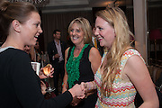 JULIET NICOLSON; FLORA MACMILLAN-SCOTT, Juliet Nicolson - book launch party for  her latest novel Abdication, about British society after the death of George V.  The Gallery at The Westbury, 37 Conduit Street, Mayfair, London, 12 June 2012
