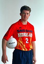 21-05-1997 VOLLEYBAL: TEAMPRESENTATIE MANNEN: WOERDEN<br /> Frank Denkers<br /> ©2007-WWW.FOTOHOOGENDOORN.NL