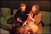 NAOMI WILLIAMS; ANNIE FORREST, Frieze party, ACE hotel Shoreditch. London. 18 October 2014