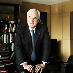 PARIS, FRANCE. FEBRUARY 2012, 9. Bernard Fornas, Chief Executive of Cartier, in his office. Photo: Antoine Doyen