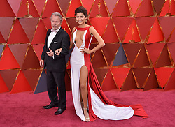 Blanca Blanco walking on the red carpet during the 90th Academy Awards ceremony, presented by the Academy of Motion Picture Arts and Sciences, held at the Dolby Theatre in Hollywood, California on March 4, 2018. (Photo by Sthanlee Mirador/Sipa USA)