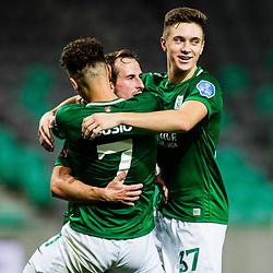 20200827: SLO, Football - UEFA Europa League, Qualifying Round, NK Olimpija vs Víkingur