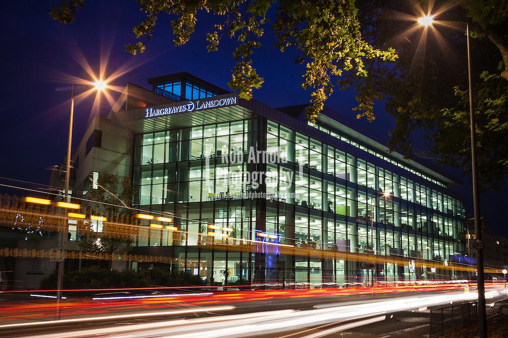 The Head Office of stockbroker, Hargreaves Lansdown in Bristol, UK