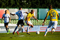 Sandi Ogrinec of NK Bravo vs Zan Zuzek of NK Koper during football match between NK Bravo and NK Koper in 4th Round of Prva liga Telekom Slovenije 2020/21, on September 19, 2020 in Sport park ZAK, Ljubljana, Slovenia. Photo by Grega Valancic / Sportida