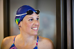 Anja Carman Cekic during her retirement in Olympic swimming pool Kranj, Kranj, on May 28, 2016. Photo by Ziga Zupan / Sportida