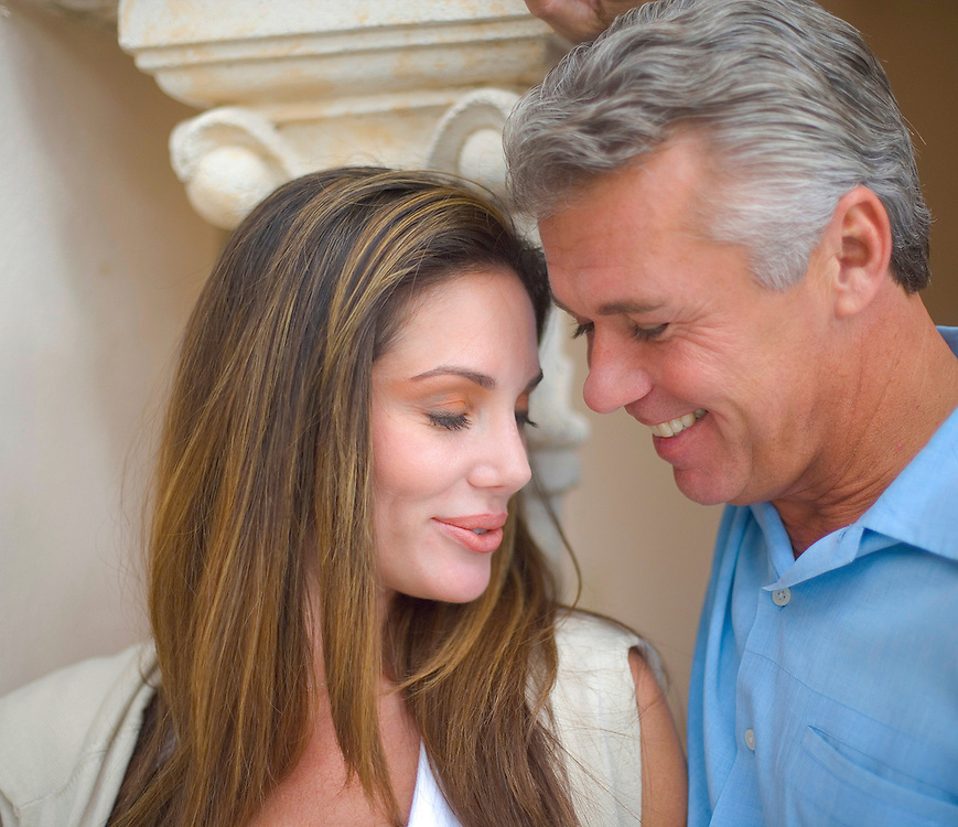 A romantic couple at Florida's Fisher Island Club