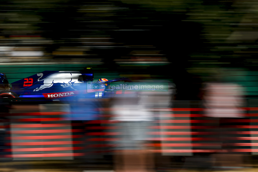 March 16, 2019 - Melbourne, Australia - Motorsports: FIA Formula One World Championship 2019, Grand Prix of Australia, ..#23 Alexander Albon (THA, Red Bull Toro Rosso Honda) (Credit Image: © Hoch Zwei via ZUMA Wire)