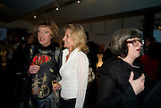 GRAYSON PERRY; ALISON MYNERS; PHILLIPA PERRY, The Presentation of the Montblanc de la Culture Arts Patronage Award to Anthony D'Offay. Tate Modern. 16 April 2009<br /> GRAYSON PERRY; ALISON MYNERS; PHILLIPA PERRY, The Presentation of the Montblanc de la Culture Arts Patronage Award to Anthony D'Offay. Tate Modern. 16 April 2009 *** Local Caption *** -DO NOT ARCHIVE-© Copyright Photograph by Dafydd Jones. 248 Clapham Rd. London SW9 0PZ. Tel 0207 820 0771. www.dafjones.com.