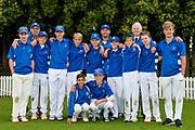 St Kentigern Boys' School after the National Primary School Cup Final, Bert Sutcliffe Oval, Lincoln, New Zealand, 16th November 2018.Copyright photo: John Davidson / www.photosport.nz