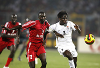 Fotball<br /> Afrika mesterskapet 2008<br /> Foto: DPPI/Digitalsport<br /> NORWAY ONLY<br /> <br /> FOOTBALL - AFRICAN CUP OF NATIONS 2008 - QUALIFYING ROUND - GROUP C - 22/01/2008 - SUDAN v ZAMBIA - JACOB MULENGA (ZAM) / AHMED GIBRIL (SUD)