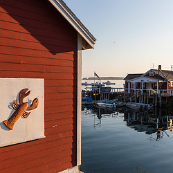 McLoon's Lobster Shack (at end of Island Road) in South Thomaston, Maine.