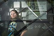 Computer History Museum curator Chris Garcia poses for a portrait at the Computer History Museum in Mountain View, California, on April 18, 2014. (Stan Olszewski/SOSKIphoto for Content Magazine)