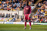 Yves Makabu Ma-Kalambay of Wycombe Wanderers during the EFL Sky Bet League 1 match between Oxford United and Wycombe Wanderers at the Kassam Stadium, Oxford, England on 30 March 2019.