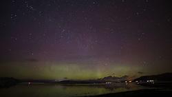 The Northern Lights (Aurora Borealis) made for a spectacular light show over Loch Linnhe near Oban on the west coast of Scotland...... (c) Stephen Lawson | Edinburgh Elite media
