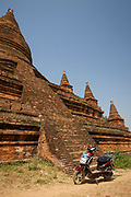 E-Bikes in Bagan superceded any petrol bikes ...and a lot quieter way to enjoy the  sights