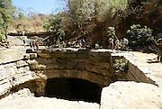 Madagascar, Ankarana Special Reserve. The Green River an underground river
