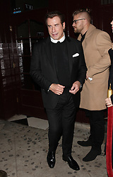 John Travolta goes to the Peppermint Club to party after attending the 59th Annual Grammy Awards in West Hollywood. 12 Feb 2017 Pictured: John Travolta. Photo credit: MEGA TheMegaAgency.com +1 888 505 6342