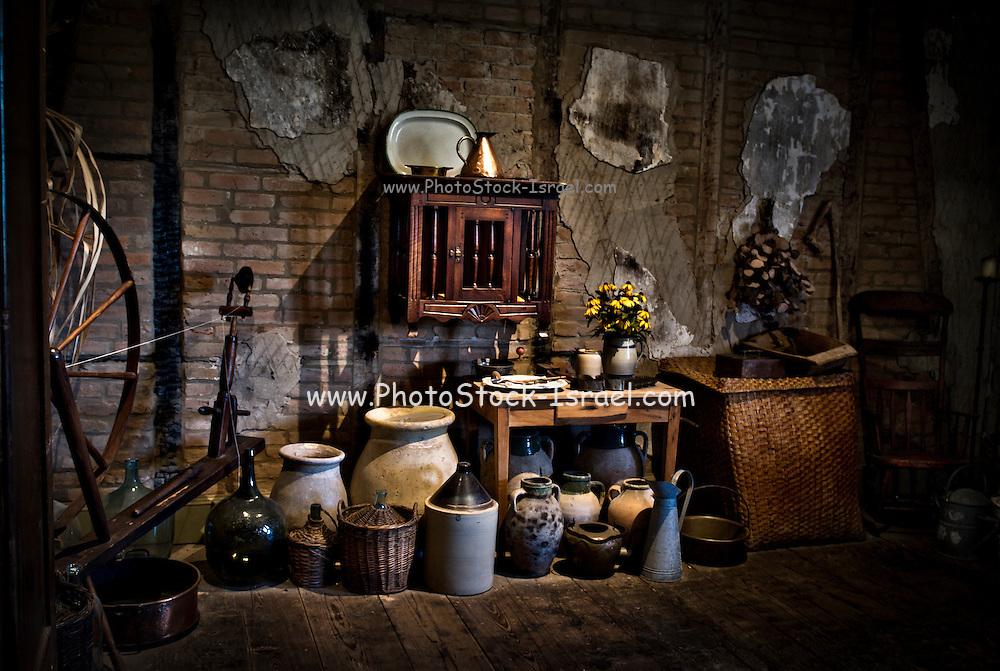 Interior of a Gift shop, Louisiana USA