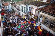 Ouro Preto_MG, Brasil...Mulheres do Bloco Balanco da Cobra no carnaval em Ouro Preto...The Balanco da Cobra block in Ouro Preto carnival...Foto: LEO DRUMOND / NITRO