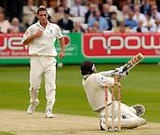 Lord's London, 1st NPower Test   England v New Zealand. Bowler Simon JONES, 20/05/2004 <br /> [Credit Peter Spurrier Intersport Images}