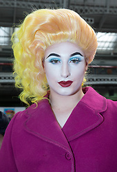August 26, 2017 - London, London, United Kingdom - Image ©Licensed to i-Images Picture Agency. 26/08/2017. London, United Kingdom..Europe's largest Drag convention is at Olympia, London on 26th and 27th August.. DragWorld UK, Olympia, London. Olympia. Picture by Mark Thomas / i-Images (Credit Image: © Mark Thomas/i-Images via ZUMA Press)