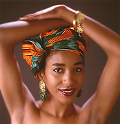 A beauty portrait.
