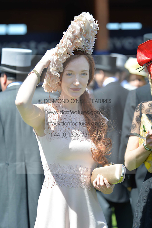 Olivia Grant at The Investec Derby, Epsom, Surrey England. 3 June 2017.<br /> Photo by Dominic O'Neill/SilverHub 0203 174 1069 sales@silverhubmedia.com