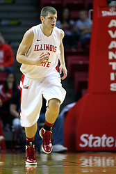 19 November 2011:  Jordan Threloff during an NCAA mens basketball game between the Lipscomb Bison and the Illinois State Redbirds in Redbird Arena, Normal IL